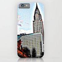 iPhone & iPod Case featuring American colors  by Françoise Reina