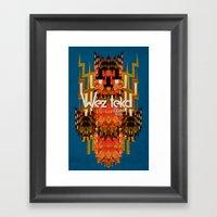 Dodi Owl Of The Wezteka… Framed Art Print