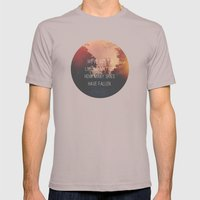 Fallen Skies Mens Fitted Tee Cinder SMALL