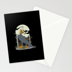 Halloween Nouveau Stationery Cards