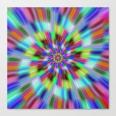 Vibration Canvas Print