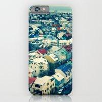 Retro Reykjavik - Iceland iPhone 6 Slim Case