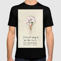 Visceral Longing  Mens Fitted Tee Black SMALL