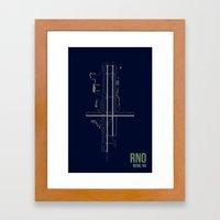 RNO Framed Art Print
