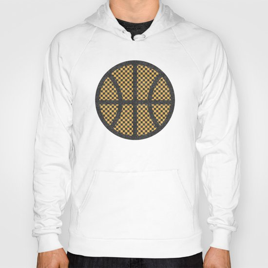Op Art Basketball. Hoody