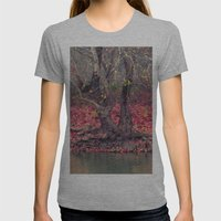 Landscape Womens Fitted Tee Athletic Grey SMALL