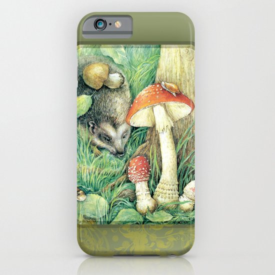 Mushrooms iPhone & iPod Case