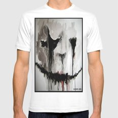 Ghoulsmear Mens Fitted Tee White SMALL