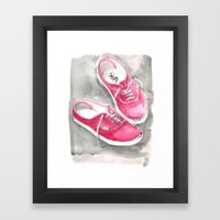 Vans Framed Art Print