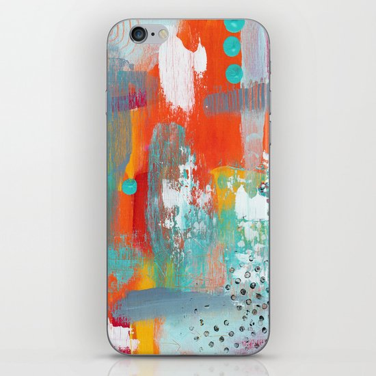 Colorful Chaos iPhone & iPod Skin