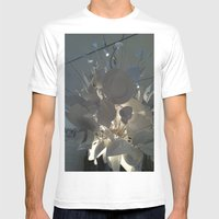 MoMa Broken Plates Mens Fitted Tee White SMALL