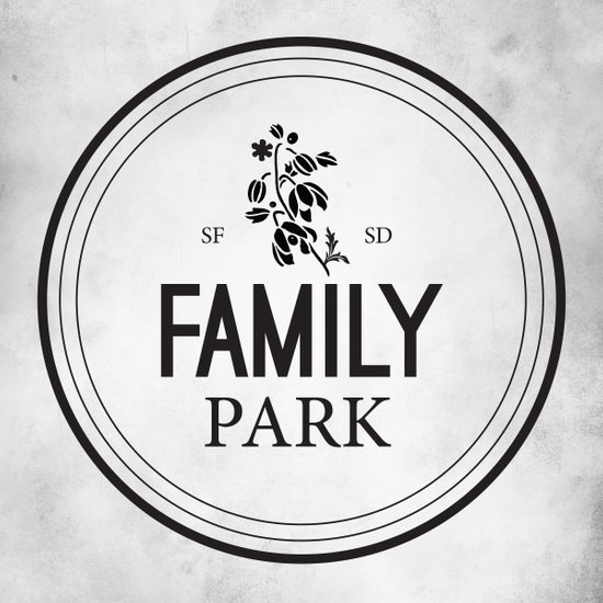 Family Park Canvas Print