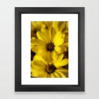 Sunshine Petals Framed Art Print