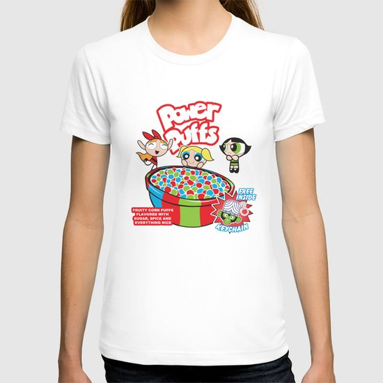 Power Puffs Cereal T-shirt