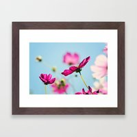 Summer flowers Framed Art Print