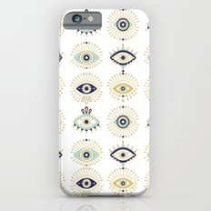 Evil Eye Collection on White iPhone 6 Slim Case