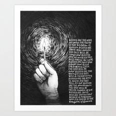 The Beatitudes Art Print