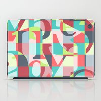 Colorful Language  iPad Case