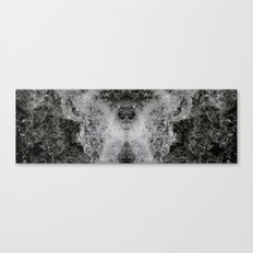 Foam Butterfly Canvas Print