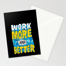 More & Better Stationery Cards