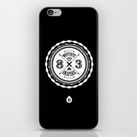 Motivate & Inspire (White) iPhone & iPod Skin