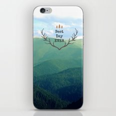 Best Day Ever! iPhone & iPod Skin