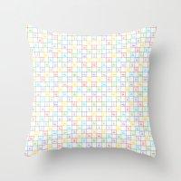 Periodic Pattern Throw Pillow