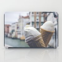 Love And Ice Cream iPad Case