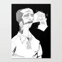 Let's Take It Down A Not… Canvas Print