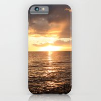 iPhone & iPod Case featuring Good night sun! by AnishaCreations