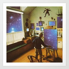 Cosmic studio  Art Print