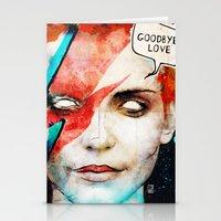 Ziggy Stardust/David Bow… Stationery Cards