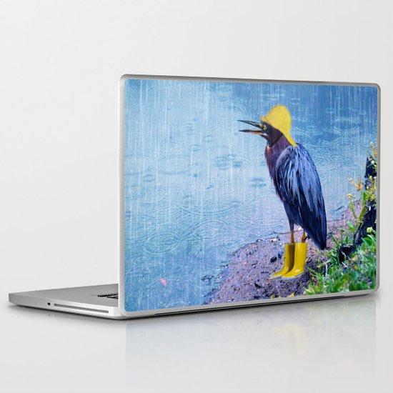 Damn Rain !!! Laptop & iPad Skin