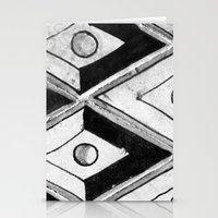 Tiling With Pattern 2 Stationery Cards