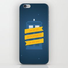 Stories iPhone & iPod Skin