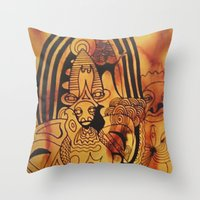 Rainbow 2 Throw Pillow