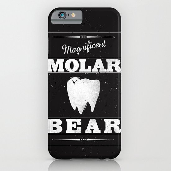 Molar Bear (Gentlemen's Edition) iPhone & iPod Case