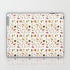 Autumn leaf pattern Laptop & iPad Skin