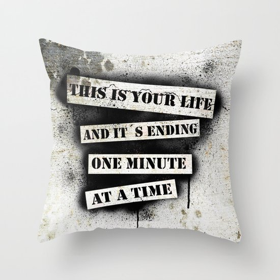 This is your life Throw Pillow