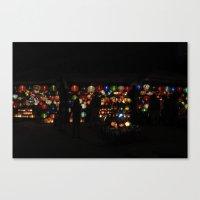 Vietnamese Lanterns  Canvas Print
