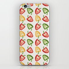 Mixed Peppers Pattern iPhone & iPod Skin