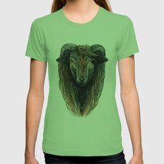 Woolen Brother Womens Fitted Tee Grass SMALL
