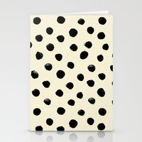 Vintage Watercolor Dots … Stationery Cards