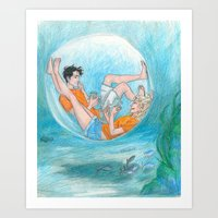 Privacy  Art Print