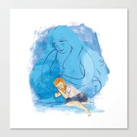 Take me under your wing Canvas Print