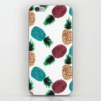 Weird Pineapples iPhone & iPod Skin
