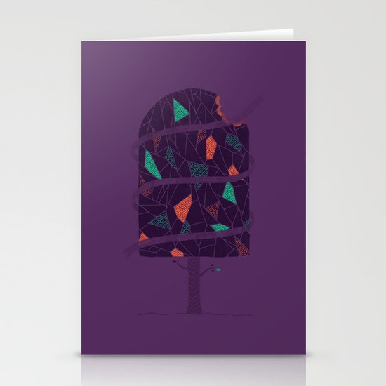 Tasty Tree Stationery Card