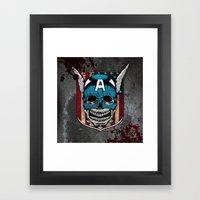 Captain-A Framed Art Print