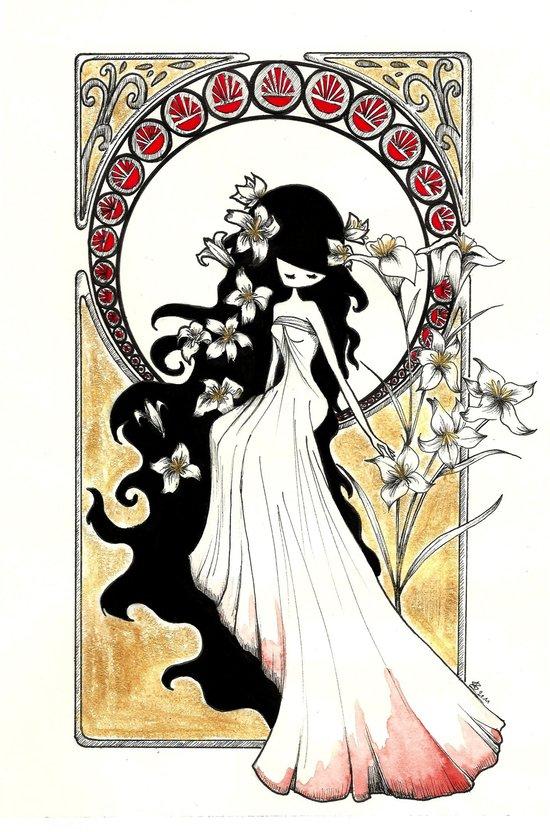 Art Nouveau Art Print