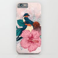 iPhone & iPod Case featuring Barn Swallows by Mat Miller